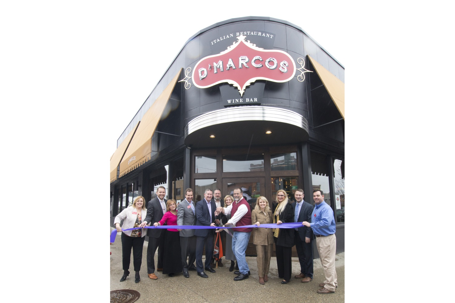 D'Marcos Italian Restaurant and Wine Bar Ribbon Cutting