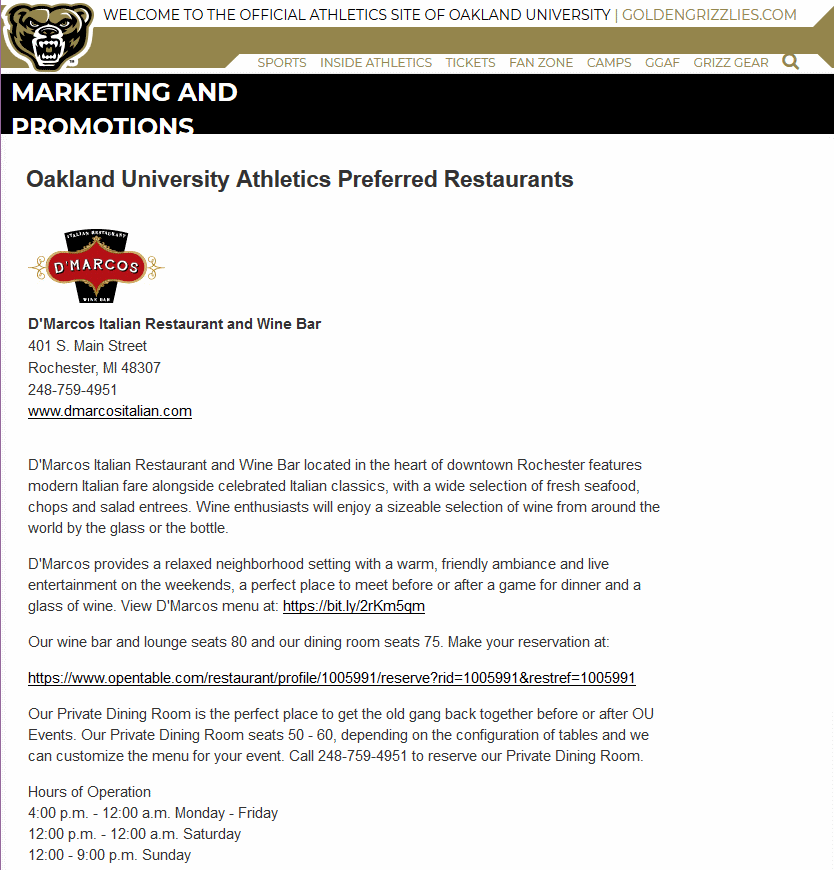 OU Golden Grizzlies 060618